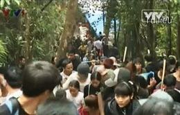Khắc phục tiêu cực trong lễ hội Yên Tử 2014