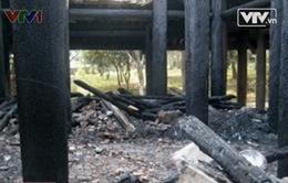 Thanh Hóa: Kiểm điểm trách nhiệm vụ cháy đền Lê Lai