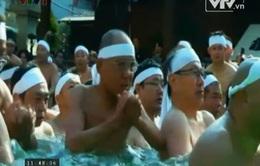 Hàng trăm người tham dự lễ hội Kanchu Mosigi tại Nhật Bản
