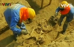 Phát hiện 35 ngôi mộ niên đại 1.000 năm ở Peru