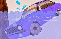 Kỹ năng để sống sót khi ô tô rơi xuống nước