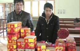 Hà Giang: Bắt giữ 33,5 kg pháo lậu