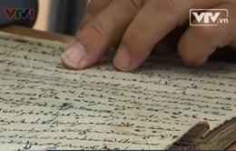 Số hóa thư tịch cổ Chăm ở Ninh Thuận