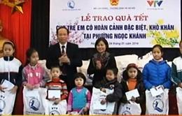 Hơn 200 suất quà Tết cho trẻ em khó khăn ở Hà Nội