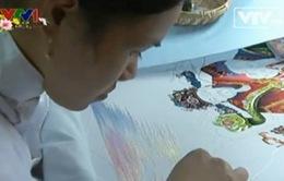 Bảo tồn nghệ thuật thêu truyền thống ở Đà Lạt