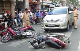 72 vụ tai nạn giao thông ngày mùng 5 Tết