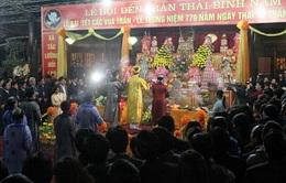 Lễ hội đền Trần tỉnh Thái Bình được công nhận là di sản