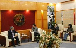 Tổng Giám đốc Đài THVN tiếp Bộ trưởng Bộ KH&CN