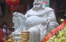 Thái Nguyên: An vị tượng Phật Di Lặc lớn nhất nước