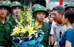 1.900 thanh niên Hà Nội nhập ngũ
