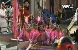 Carnival Venice hấp dẫn với màn diễu hành tàu thuyền