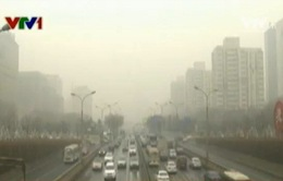 1/7 diện tích Trung Quốc chìm trong khói mù