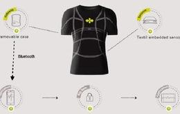 Vải thông minh giúp theo dõi Sức khỏe người mặc