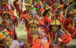 Carnival dành cho trẻ em tại Brazil
