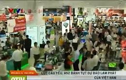 Lực cầu yếu, ANZ hạ thấp dự báo lạm phát của Việt Nam