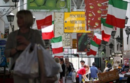 Kinh tế Italy tăng trưởng nhẹ sau 2 năm suy thoái