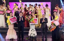 """Đoàn Thị Hải Linh đăng quang """"Người đẹp Kinh Bắc 2014"""""""