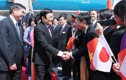 Chủ tịch nước thăm cấp Nhà nước tới Nhật Bản