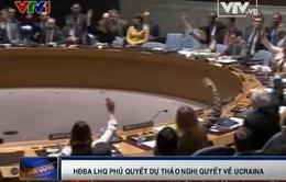 Các nước phương Tây chỉ trích việc Nga phủ quyết Dự thảo nghị quyết về Ukraine