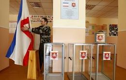 Hôm nay (16/3), Crimea tiến hành trưng cầu dân ý