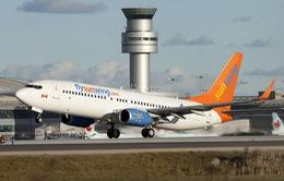 Máy bay Canada hạ cánh khẩn cấp do nhiễu động mạnh