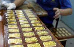Giá vàng trong nước giảm 200.000 đồng/ lượng