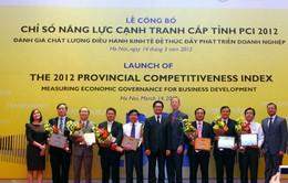 Sáng nay (20/3), công bố chỉ số cạnh tranh cấp tỉnh PCI 2013