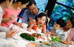Hạnh phúc gia đình từ bữa cơm sum vầy