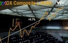 Cổ phiếu Châu Á giảm mức thấp nhất trong 6 tuần