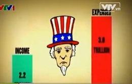 Mỹ: Cắt giảm nợ nước ngoài, đầu tư trong nước tăng mạnh