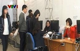 Hà Nội: Người đến nộp thuế vẫn lác đác