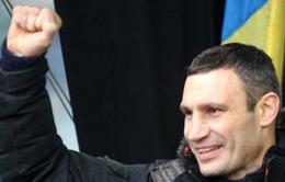 Ukraine: Cựu võ sĩ Klitschko rút lui tranh cử Tổng thống