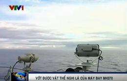 Vớt được vật thể nghi là của máy bay MH370