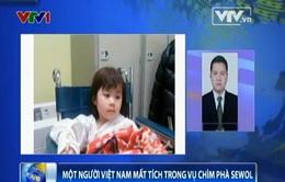 Một người Việt Nam mất tích trong vụ chìm phà Sewol