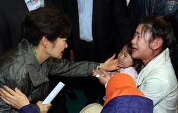 Cứu được bé gái gia đình Việt - Hàn trong vụ chìm phà Sewol