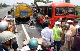 Vụ tại nạn trên cao tốc Trung Lương: 7 người chết, 7 người bị thương