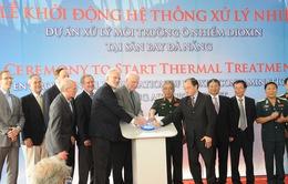 Khởi động hệ thống xử lý dioxin tại sân bay Đà Nẵng