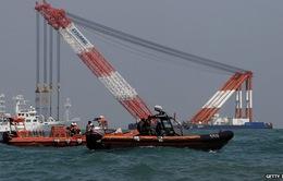 Đội cứu hộ có thể sử dụng thiết bị điều khiển từ xa của Mỹ để tiếp cận phà Sewol