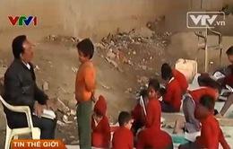 Lớp học gầm cầu cho trẻ em ngay giữa New Dehli