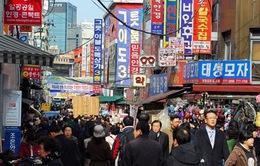 """Kinh tế Hàn Quốc """"ảm đạm"""" do vụ chìm phà Sewol"""