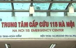 """7 bác sĩ liên quan vụ """"rút ruột"""" BHYT tại Trung tâm cấp cứu 115 Hà Nội"""