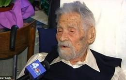 Cụ ông 111 tuổi là người đàn ông sống thọ nhất thế giới