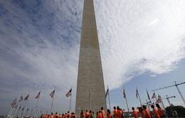 Đài tưởng niệm Washington mở cửa trở lại sau 3 năm