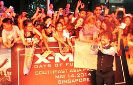 """""""X-Men: Ngày cũ của tương lai"""" ra mắt hoành tráng tại Singapore"""