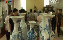 Phú Thọ: Trưng bày hơn 600 cổ vật quý hiếm