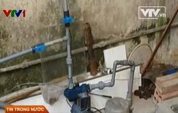 Hà Nội: 18 ngày chờ đợi, nước vẫn chưa về với người dân
