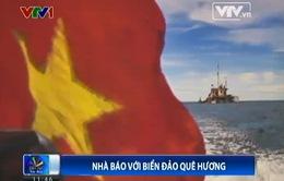 Biển đảo quê hương qua ống kính của các phóng viên, nhà báo