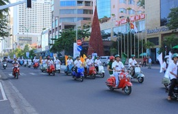 Việt Nam lần đầu tham dự Ngày hội Vespa thế giới 2014