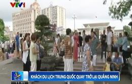 Khách du lịch Trung Quốc quay trở lại Quảng Ninh