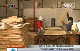 Bộ Tài chính yêu cầu tỉnh Điện Biên thu hồi hơn 26 tỷ đồng ngân sách